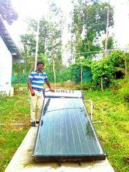 Flat Plate Solar Water Heaters