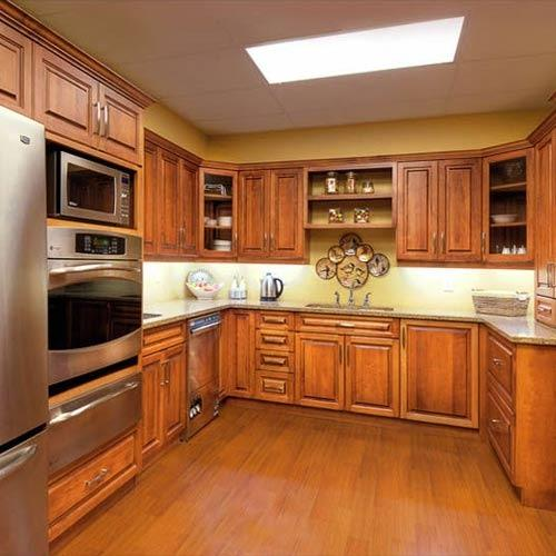 Solid Wood Kitchen: View Specifications & Details