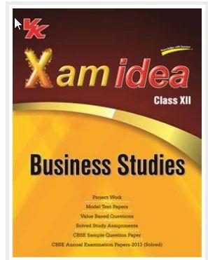 Xamidea Business Studies Book   V  K  Global Publications Private