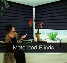 Troq Motorized Horizontal Blinds