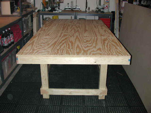 Ply Board Table