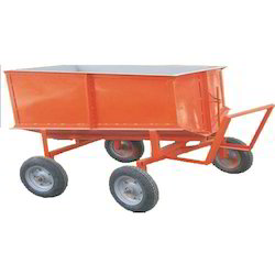 Material Handling Trolley For CLC Block Plant