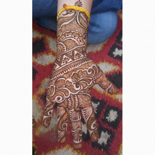 Half Hand Bridal Henna Mehendi Design Service In Gurgaon Ajay