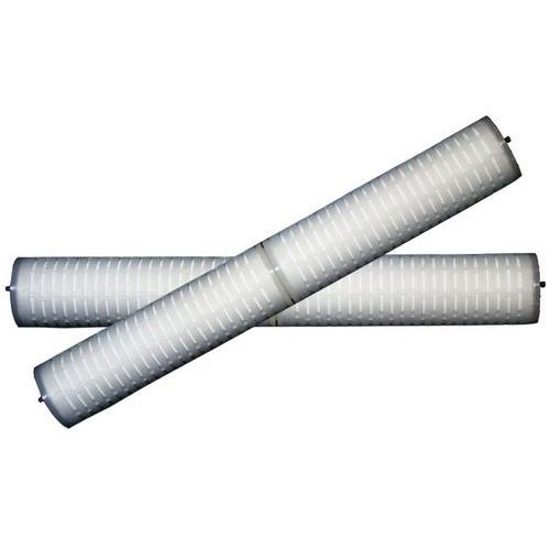 White PP Pleated Filter Cartridge, For Water Filter