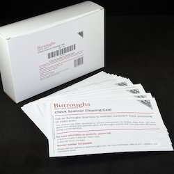 Burroughs Scanner Cleaning Card