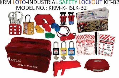 Lockout Tagout Kit Industrial Safety Lockout Tagout Kit