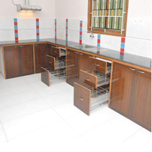 Ordinaire PVC Modular Kitchen Cabinets
