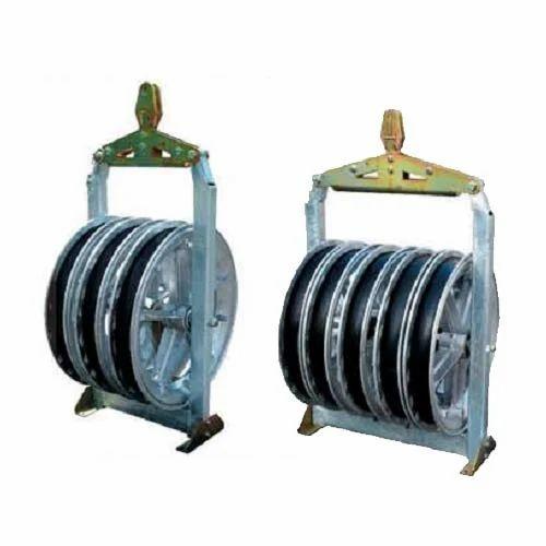 multiple pulley block