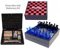 Chess Box with Stationery Kit