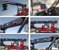 LMI System for Re-stacker Crane