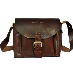 Leather Sling Bag in Delhi, India - IndiaMART