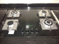 Four Burner Glass Stove