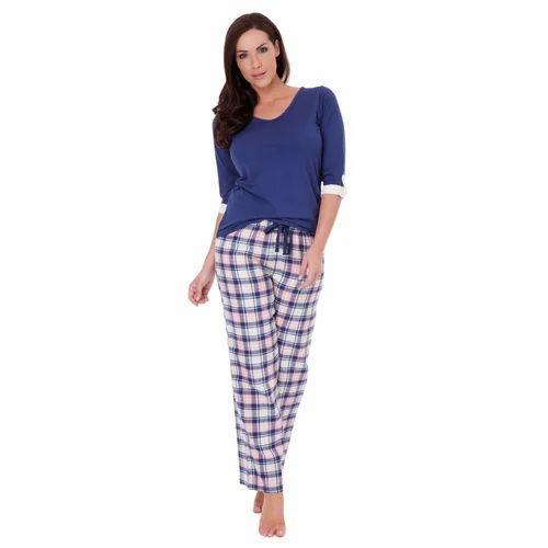 Ladies Cotton Pyjama  ce42074a2