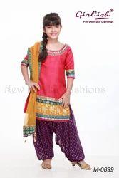 Kids Georgette Salwar Kameez