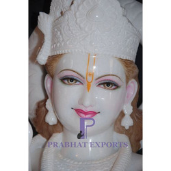 White Marble Lord Krishna Statue