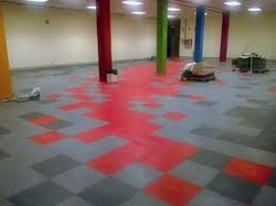 PVC Homogeneous Flooring Services