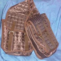 Synthetic Saddle Bag Double