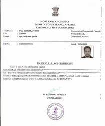 PASSPORTS, PCC, ECNR