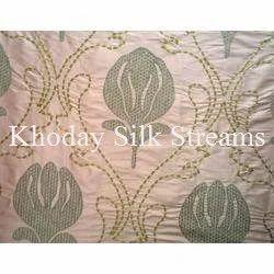 Designer Embroidery Silk Fabric