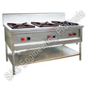 Three Burner Cooking Gas Range