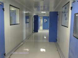Ss 12 Feet Modular Clean Room Systems, Polished