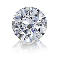 Surat Manufacturing Uncertified Round Solitaire Diamond