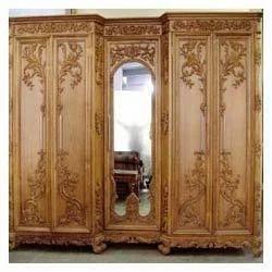 Designer Wooden Wardrobe Hi Tech Kitchen Art Manufacturer in