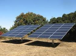 Single Axis Tracking Solar Panels Mounting Structures