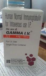 GAMMA IV Human Normal Immunoglobulin. IVIG