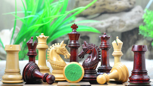 The Indian Chetak Series Staunton Luxury Chess Pieces