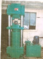 Full Fledged Wire Rope Splicing Crimping Press
