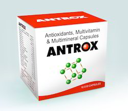 Antioxidants Multivitamins And Multimineral Capsule
