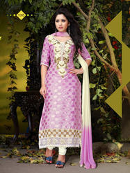 Designer Cotton Party Wear Fancy Stylish Salwar Suit