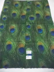 Fine Woolen Peacock Design Digital Printed Shawls