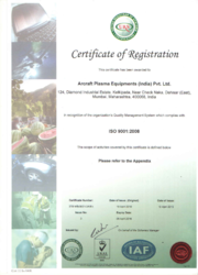 An ISO Certificate