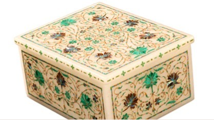 Rectangle Shaped Jewellery Box (Master Piece)