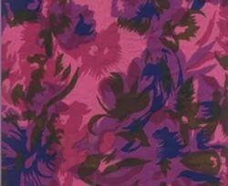 Screen Printed Pink Fabric