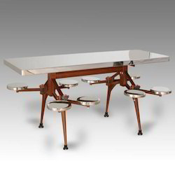 SS Revolving Dining Table, Height: 2 to 3 Feet