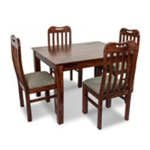 Sheesham Wood 4 Seater Dining Table Set Rs 24500 Set Hare Krishna Furnishing Pvt Ltd Id 10348212048