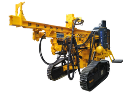 Excavator Mounted Rock Crawler Blasting Drilling Rig