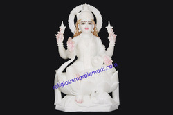 Goddess Laxmi Marble Statue