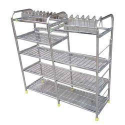 Steel Sheet Kitchen Stand View Specifications Details Of Plate Racks By Ram Lakhan Ahmedabad Id 6947478188