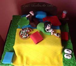 Bed Design Cake
