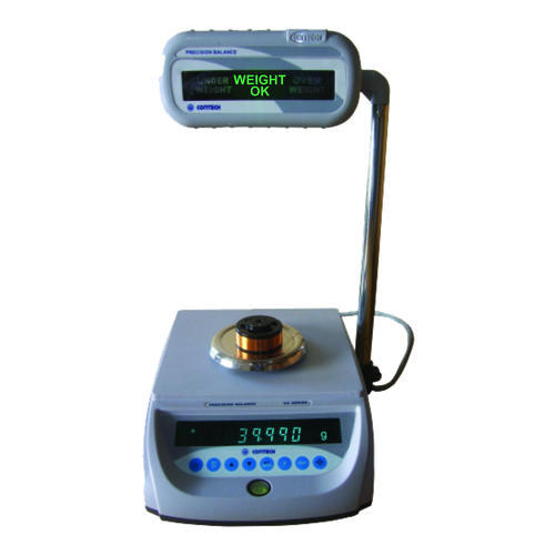 Contech Table Top Static Check Weighing Systems, For Industrial, Accuracy: 100 G
