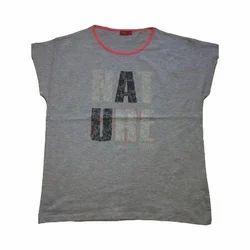 Ladies Round Neck T-Shirt