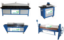Small Auto Line Duct Forming Machine