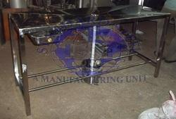 Ss Stainless Steel Dissecting Table