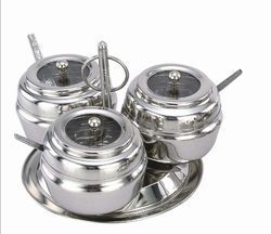 3pc Pickle Stainless Steel Utensil