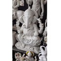 Handcrafted Ganapati In Marble Idols
