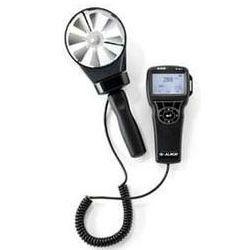 Electronic Velometer Ventilation Instrumentation